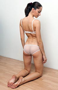Thought differently, Pictures of ladies being spanked