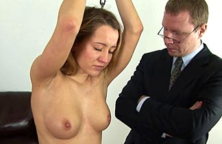 spanking in office