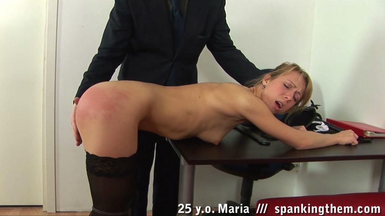 spanked for not masturbating enough